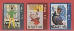 2003 ** (sans Charn., MNH, Postfrish)  Yv  1422/4Mi  1479/81NHK  1514/6 - Norvège