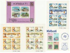 LOTTO 5 FOGLIETTI KIRIBATI ANNULLATI (VP406 - Kiribati (1979-...)