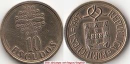 Portogallo 10 Escudos 1997 KM#633 - Used - Portogallo