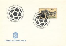 K9049 - Czechoslovakia (1981) Praha 6: 80 Years Czechoslovak Football