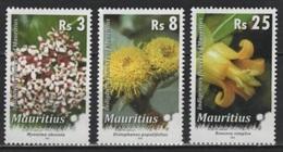 Mauritius (2016) - Set -   /  Blumen - Flowers - Fleurs - Flores - Fiori - Orchidees - Orchids - Orquideas