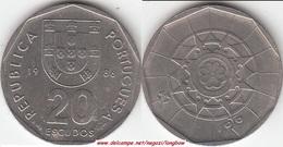 Portogallo 20 Escudos 1986 KM#634.1 - Used - Portogallo