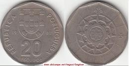 Portogallo 20 Escudos 1987 KM#634.1 - Used - Portogallo