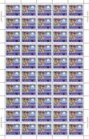 Canada Sc# 741-743 MNH Pane/50 Set/3 1977 10c-25c Christmas - Unused Stamps