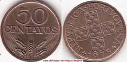 Portogallo 50 Centavos 1975 KM#596 - Used - Portogallo