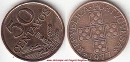 Portogallo 50 Centavos 1977 KM#596 - Used - Portogallo