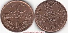Portogallo 50 Centavos 1978 KM#596 - Used - Portogallo