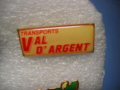 Pin's Des Transports Routiers Du Val D'Argent (Dépt 67) - Transport