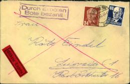 1953, Eilbrief Ab BERLIN NW 64 Nach Leipzig. - Blocks & Kleinbögen
