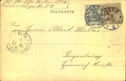 """WANNSEE 1 Auf Postkarte """"""""Stolper See"""""""", Gelaufen 1903. - Deutschland"""