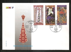 CROATIA 1995,COMPLETE YEAR ,ANNO COMPLETA YAHRGANG, MISSED FDC MI. NO 328-9,FAUNAFDC