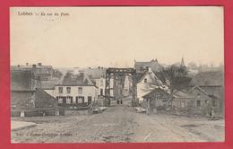 Lobbes - La Rue Du Pont - 1907 ( Voir Verso ) - Lobbes