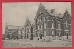 Braine-le-Comte - L'Ecole Moyenne - 1907 ( Voir Verso ) - Braine-le-Comte
