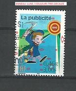 2001 N° 3373  COMMUNICATION LA PUBLICITEE AU CINEMA  PHOSPHORESCENTE  DESCRIPTION