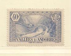 ANDORRE   ( D17 - 10108 )   1932  N° YVERT ET TELLIER  N° 33  N* - Andorre Français
