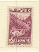 ANDORRE   ( D17 - 10115 )   1932  N° YVERT ET TELLIER  N° 41  N* - Neufs
