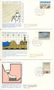 Trompet FDC Nr. 97 T/m 99 (1977) - FDC