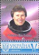 Ukraine 2017, Space, Astronaut Canada, 1v