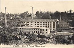 Bolbec - L'usine De Tissage Et La Filature - Bolbec