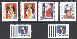 Canada Sc# 1499-1502 MNH Lot/6 1993 38c-86c Christmas - 1952-.... Reign Of Elizabeth II