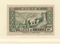ANDORRE   ( D17 - 10138 )   1937  N° YVERT ET TELLIER  N° 82   N* - Andorre Français