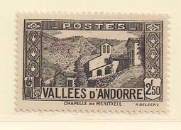 ANDORRE   ( D17 - 10142 )   1937  N° YVERT ET TELLIER  N° 86   N* - Andorre Français