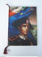 CALENDARIO STORICO ARMA CARABINIERI - ANNO 1993 (COMPLETO CORDONCINO E PALLINE) - LEGGI - Calendari