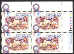 Canada Sc# 1672 MNH PB UR 1997 45c Royal Agricultural Winter Fair - 1952-.... Reign Of Elizabeth II