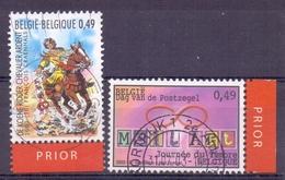Belgie - 2003 - OBP - 3172/73 -  Gestempeld - Oblitérés