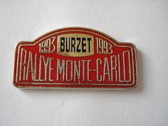 20170226-458 COURSE AUTOMOBILE RALLYE MONTE-CARLO 1993 BURZET - Rallye