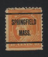 USA 889 SCOTT 472--MICHEL 232 K   SPRINGFIELD MASS. - Estados Unidos