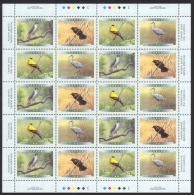 Canada Sc# 1773a MNH Pane/20 (inscribed) 1999 46c Birds Of Canada - 1952-.... Règne D'Elizabeth II