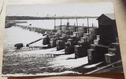 Carte Photo Power Dam Menominee River - - Etats-Unis