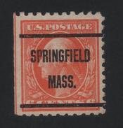 USA 892 SCOTT 468--MICHEL 228 K   SPRINGFIELD MASS. - Estados Unidos