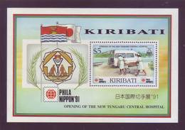 Kiribati 1991 - Phila A Tokio, Ambulanza. BF MNH** Integro - Kiribati (1979-...)
