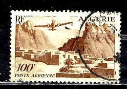 ALGERIE Aer10° 10,00f Brun-lilas Gorges D'El Kantara (10% De La Cote + 0,15) - Algeria (1924-1962)