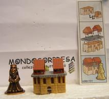 MONDOSORPRESA, KINDER FERRERO (SC35)  SOLDATINI DI METALLO CASTELLANI  K98 N°101 + CARTINA - Figurine In Metallo