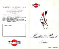 """06671 """"MARTINI & ROSSI TORINO - LISTINO 12 GIUGNO 1958"""" ORIGINALE - Altri"""