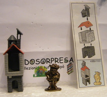 MONDOSORPRESA, KINDER FERRERO (SC35)  SOLDATINI DI METALLO CASTELLANI  K98 N°103 + CARTINA - Figurine In Metallo