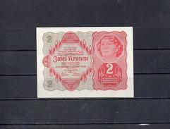 AUSTRIA 1922, 2 KRONEN, PK-74, SC-UNC - Austria