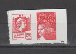 FRANCE / 2004 / Y&T N° 3716 ** (en Fait, P3716 **) Ou P43 ** : Paire LUQUET & Marianne D´Alger - état D´origine