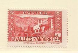 ANDORRE   ( D17 - 10170 )   1937  N° YVERT ET TELLIER  N° 85    N** - Andorre Français