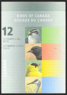 Canada Sc# BK218a Booklet MNH 1999 46c Birds - Full Booklets