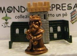 MONDOSORPRESA, KINDER FERRERO (SC35)  SOLDATINI DI METALLO CASTELLANI  K98 N°100 SENZA CARTINA - Figurine In Metallo