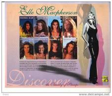 ELLE MACPHERSON-ANTIGUA BARBUDA-1999-BLOC***MNH