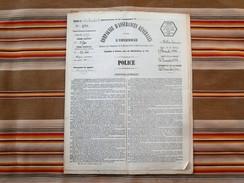 51 SAINTE MENEHOULD 1888 Compagnie D'Assurances Generales Contre L Incendie ARGERS - Bank & Versicherung