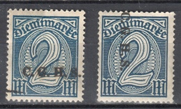 Germany 1920 Upper Silesia - Official Stamps Mi. 18-19 MNH (**) - Postfrisch - Allemagne