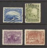 Canada Newfoundland Sc# 63-66 Used 1897 3c-6c Discovery Of Newfoundland - Newfoundland