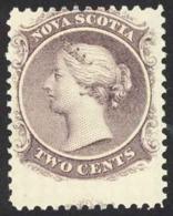 Canada Nova Scotia Sc# 9 MH (c) 1860 2c Queen Victoria - Nova Scotia