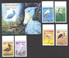 Chad Sc# 775-781 MNH 1999 Birds - Tchad (1960-...)